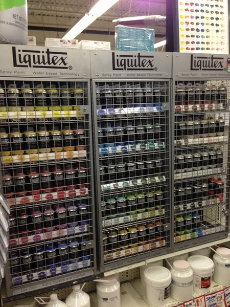 Curry's gets in new Liquitex acrylic spray paint!