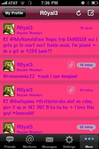 Bet your twitter app don't look like this! #twittelator