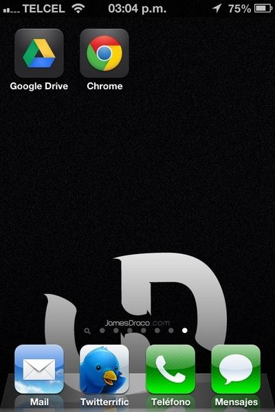 Pues me gusto Google Chrome para #iOS, si en Mac lo uso nada más faltaba este.