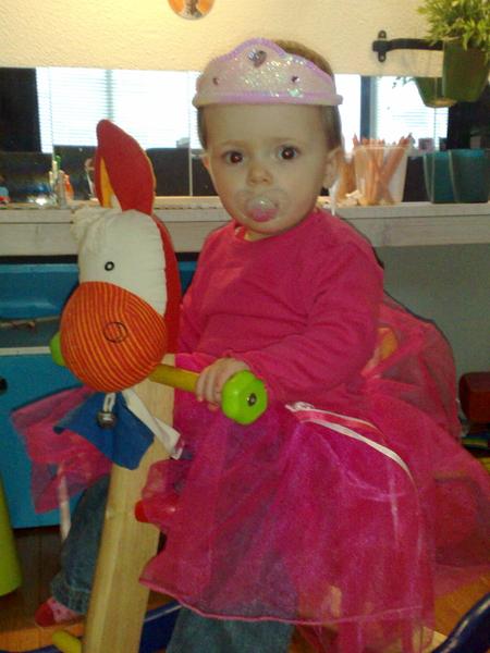 De prinses op 't houten paard