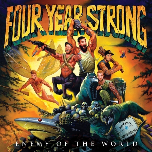 #nowplaying ♬ 'Enemy Of The World' - Four Year Strong ♪