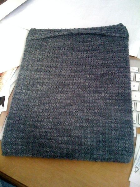 One of a kind custom handmade iPad slip case by @natalief