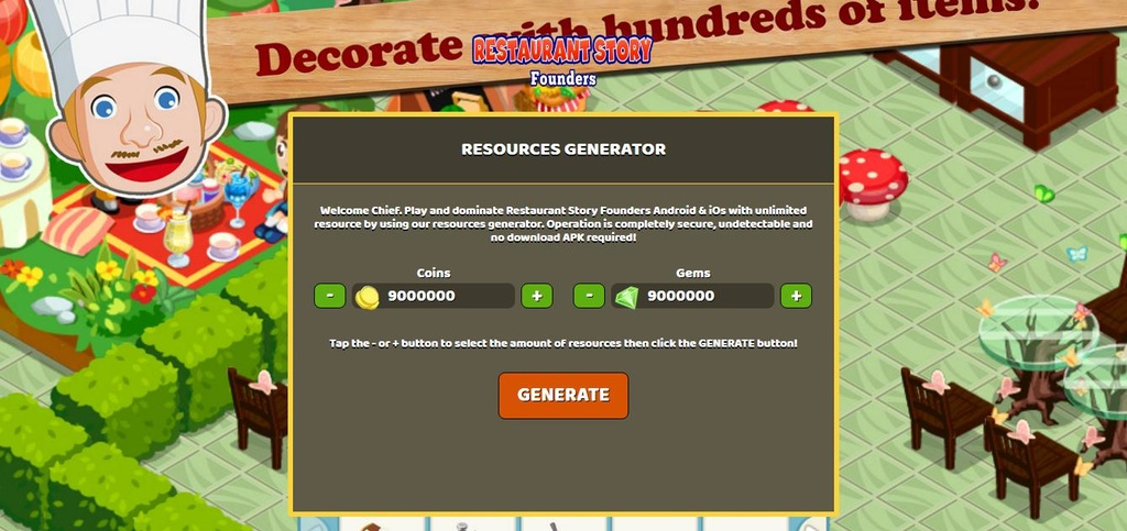 Restaurant story hack cheats android ios download worldnews.