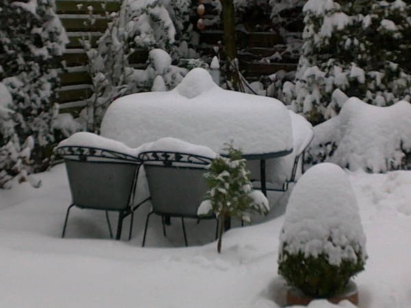 Een beetje veel sneeuw in #046 #hetweer