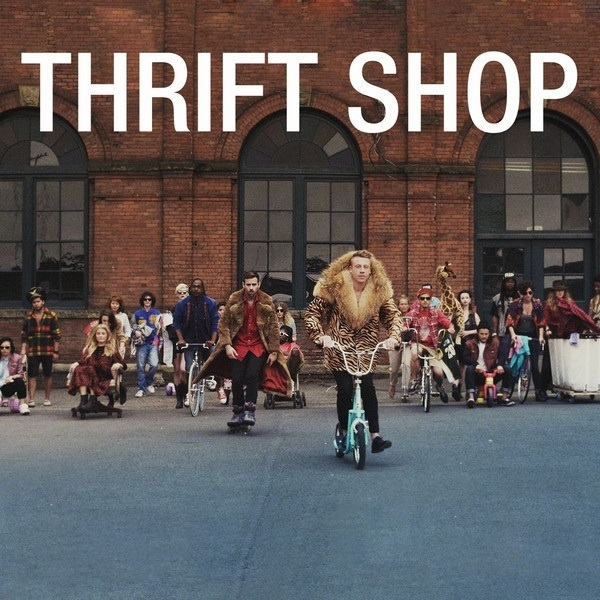 ♬ 'Thrift Shop (feat. Wanz)' - Macklemore & Ryan Lewis ♪ this song still makes me laugh
