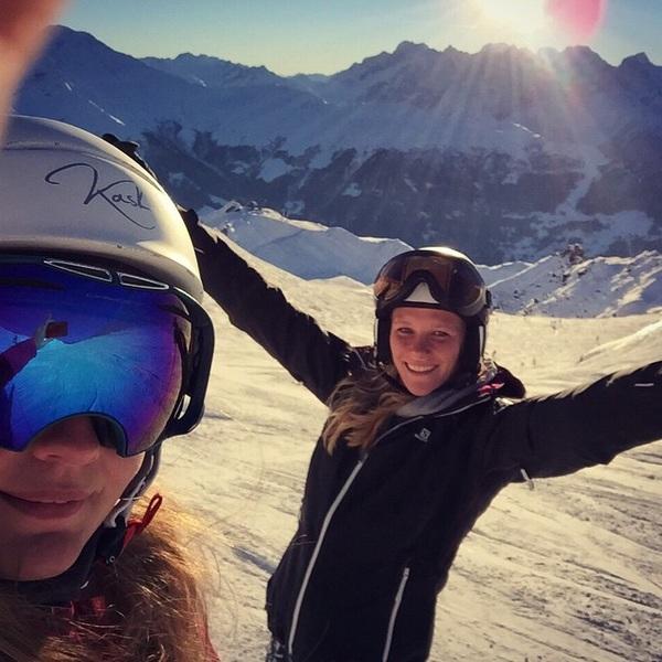Skiën was heerlijk!! #verbier #sun #timetogohome