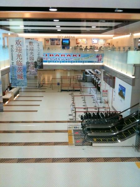 茨城空港は、今のところアシアナの韓国便しか無いという事を、たった今知った。。。
