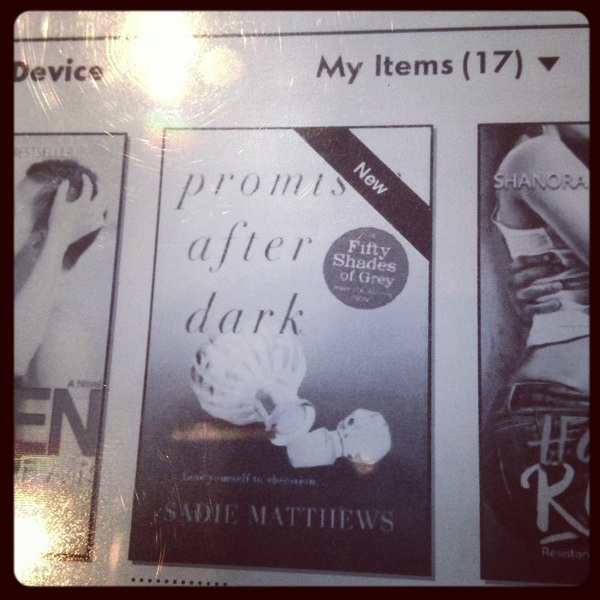 This lil beauty has been delivered to my Kindle:Promises After Dark by @Sadie_Matthews #finalpart #kindle #bookworm