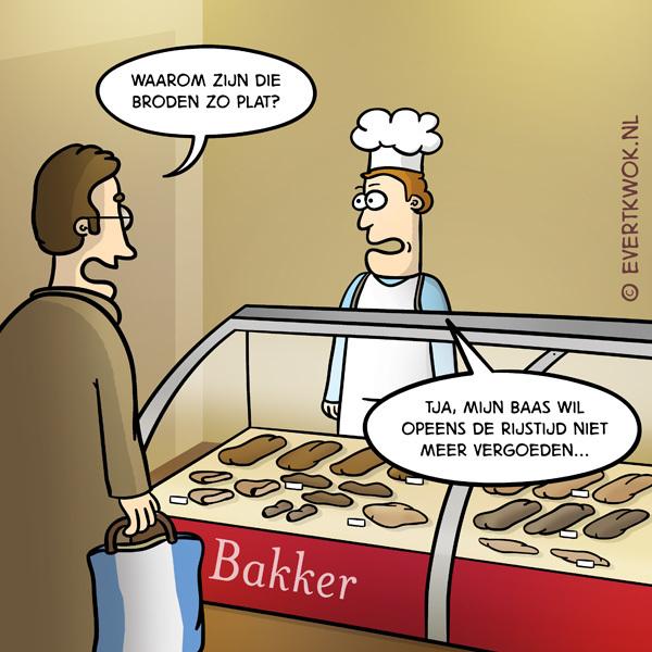 Komt een man bij de bakker...