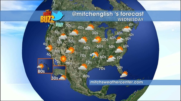 Here's my weather forecast for today from mitchsweathercenter.com #weather