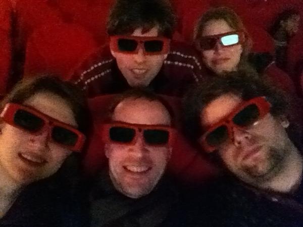 Nou goed. Het is dus 3D. Maar daarmee is ook alles gezegd. #slechtstefilmooit