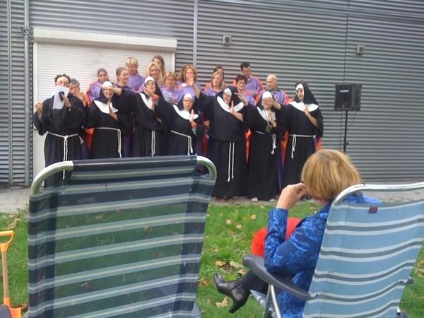 40 jarig jubileum in het onderwijs van juf Lenie in #Leiden
