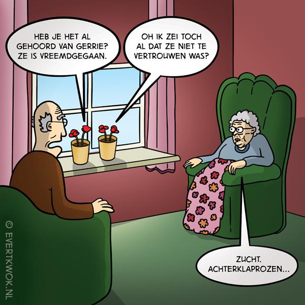 Hebben jullie het al gehoord van Gerrie? #cartoon