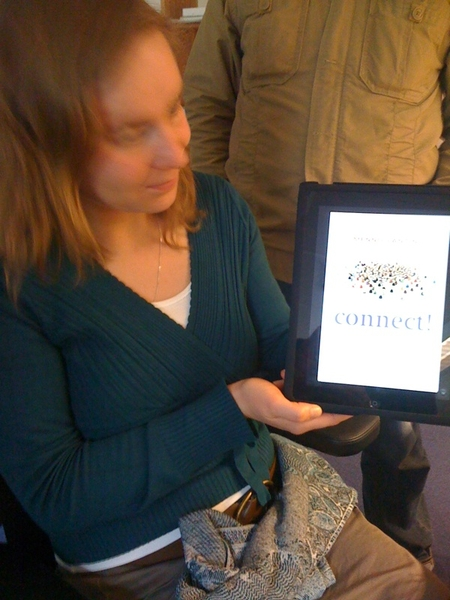 Ook wel cool!  @mlanting  @HappySan #connect op #iPad