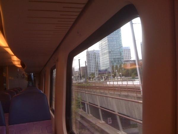 Onderweg naar Schiphol