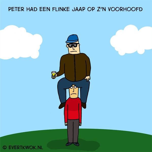 Flinke Jaap #cartoon