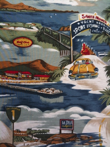 Aloha Shirt for today - California Coast.