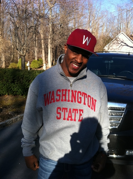 On my way to #TheGarden for the #Wazzu #NIT final four!!  @WSUCougars_com #GoCougs