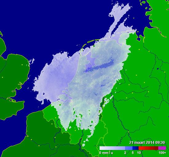 Je kan zeggen wat je wil over Wilders, maar hij maakt z'n beloften wel waar: twee dagen later heel Nederland blank.
