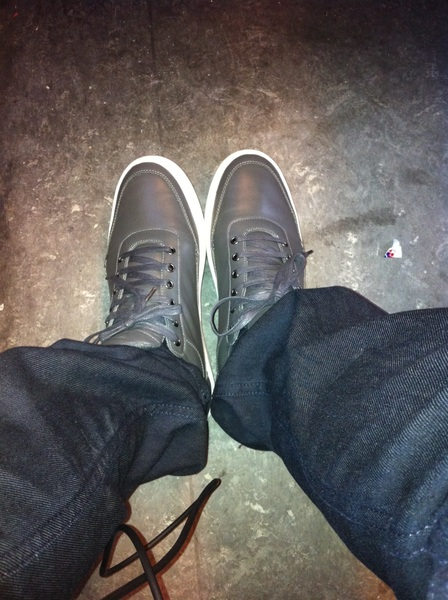 New @fillingpieces on my feet makes my cypher complete.