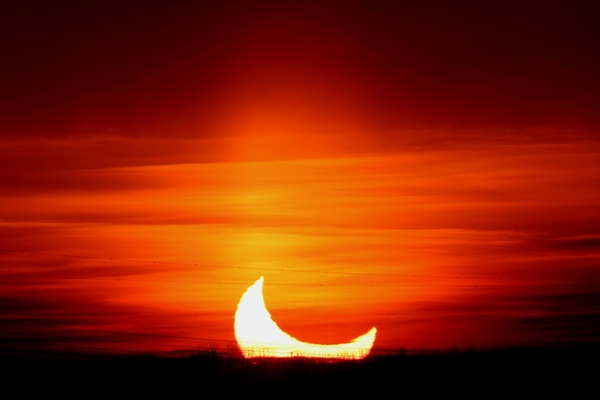 Prachtige #eclips-foto van collega @novajaap