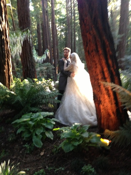 Forget what you heard about Sean Parker's wedding. It elegant, tasteful, and magical.