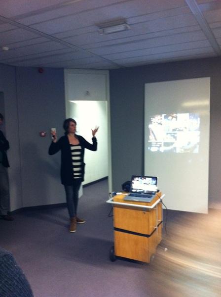 Presentatie over (verbouw)plannen #discover033 #meet&discover