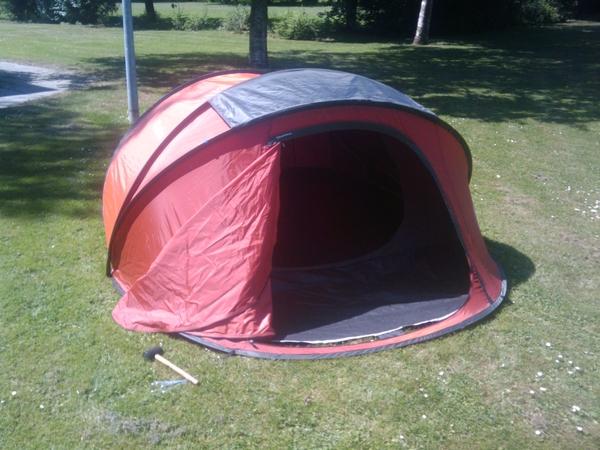Tent is festivalklaar!