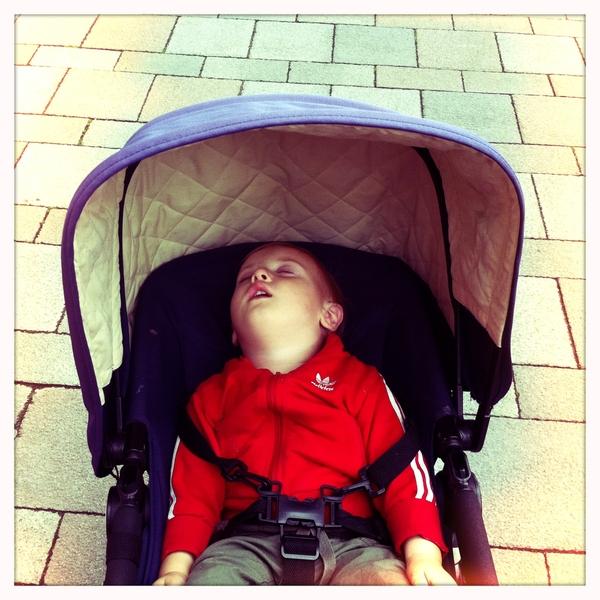 Fletcher of the day: sleepy