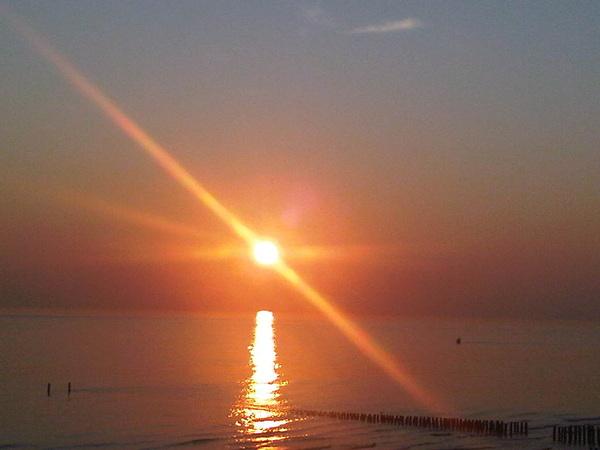 Zonsondergang, mooi.. #lovezeeland