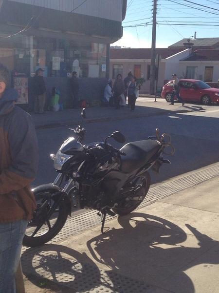 #Rico #Dia para salir en #Moto #HondaInvicta