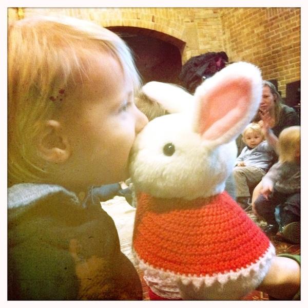 Fletcher of the day: Kissing pluisje