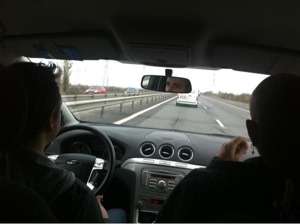 Pe A1 spre Herculane :)