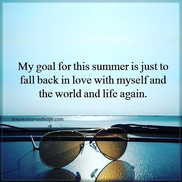 My #Goal this #Summer