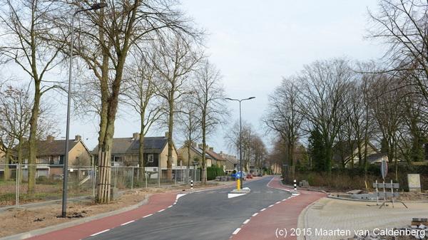 Gemeente @shertogenbosch heeft inmiddels de #tuinstraat / #weidestraat #rosmalen voorzien van #asfalt