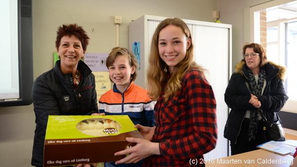 Dag van de #leerplicht met taart voor b1t @rodenborch #rosmalen #dagvandeleerplicht