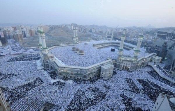 صورة ولااروع جموع المصلين في الحرم المكي الشريف  #ksa #saudi