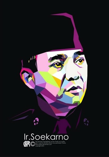 ir soekarno vector by dst dedysaptana on mobypicture moby mobile mobypicture