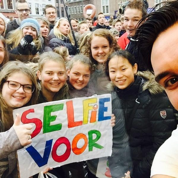 Makkelijk verdiend: 10 euro voor een selfie! #3FM #SR14