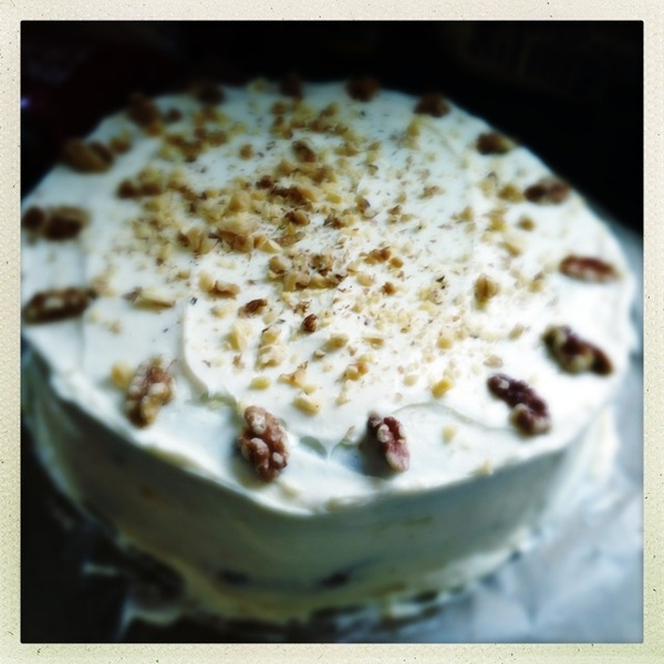 Carrot cake for Miss Tanja's BBQ