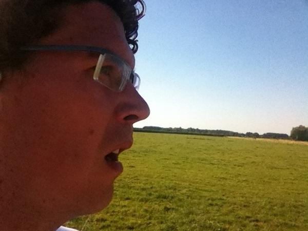 Hardlopen is nu behoorlijk afzien! #werkhoven #zon