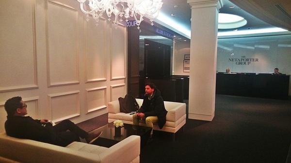Meeting Net-a-Porter #senanga