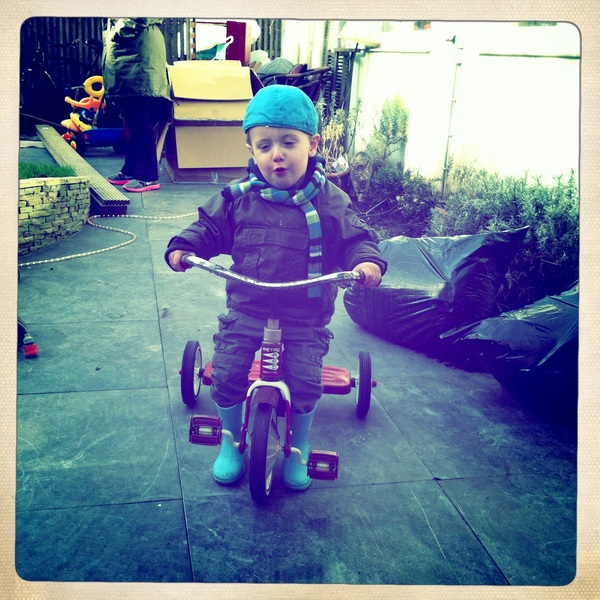 Fletcher of the day: tricycle