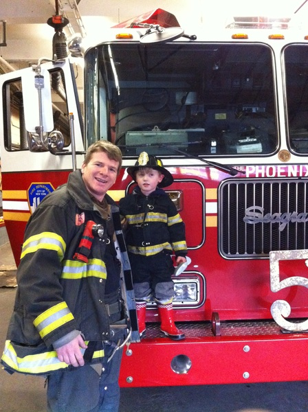 Fletcher of the day: 2 Fire fighters