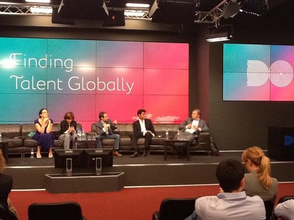 Самая веселая секция получилась про Finding Talent #digitaloctober @alenavl