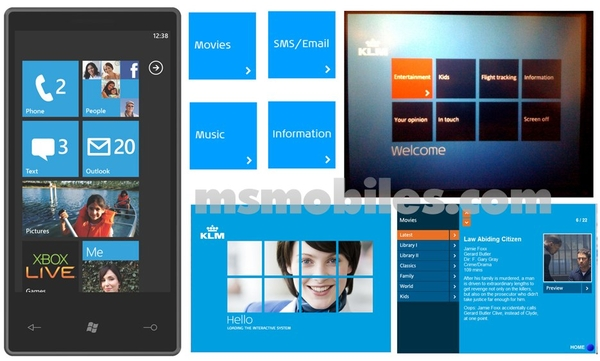 A Dutch airline KLM design-ját lopta a Microsoft a Windows Phone 7-hez?