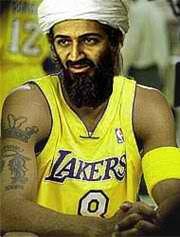Yo se q Bin Laden no era un santo, pero esto es una falta d respeto hacia Bin Laden. Comparandolo con una copia barata...