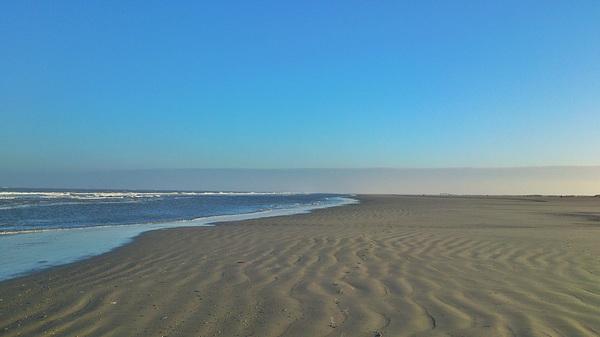 Morning run on the beach #Schiermonnikoog