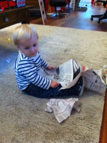Fletcher of the day: newspaper