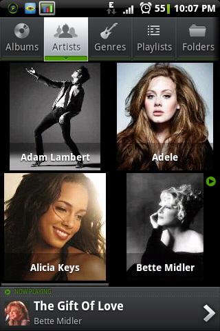 I just love how PlayerPro #Android display artist list. B-)